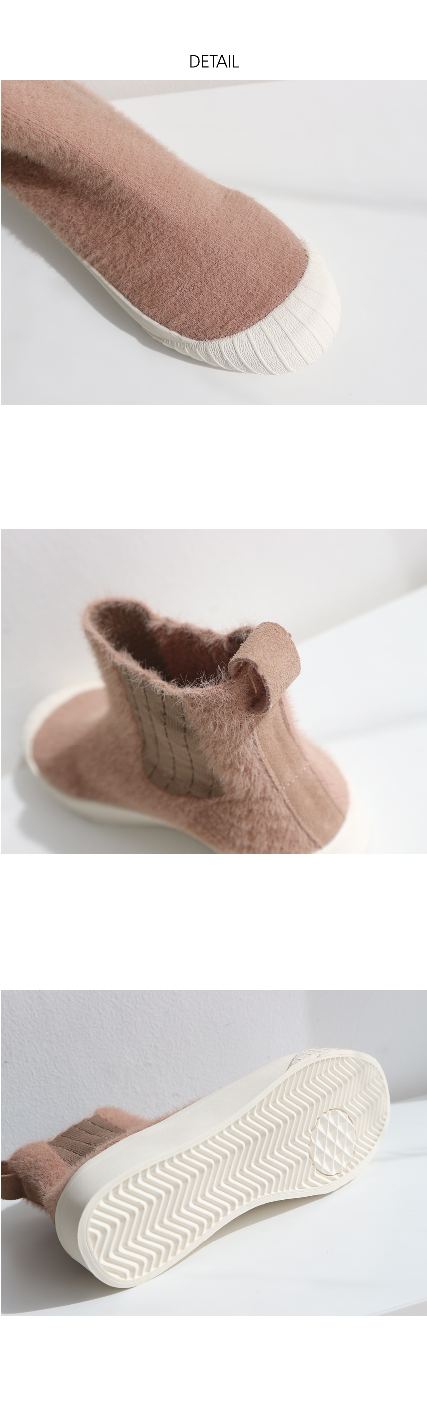 Smooth Banding Ankle Slip-on