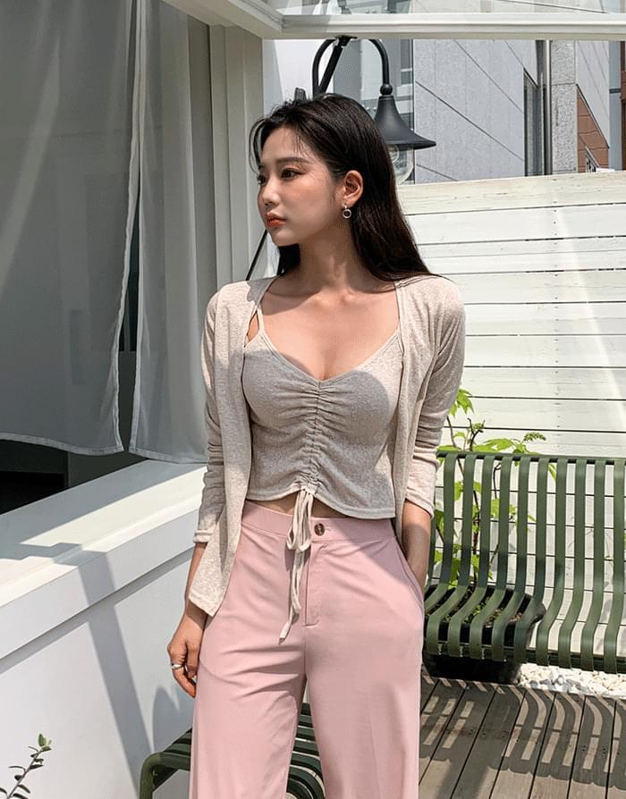 Linen string set