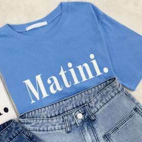 Mani English Short Sleeve Tee