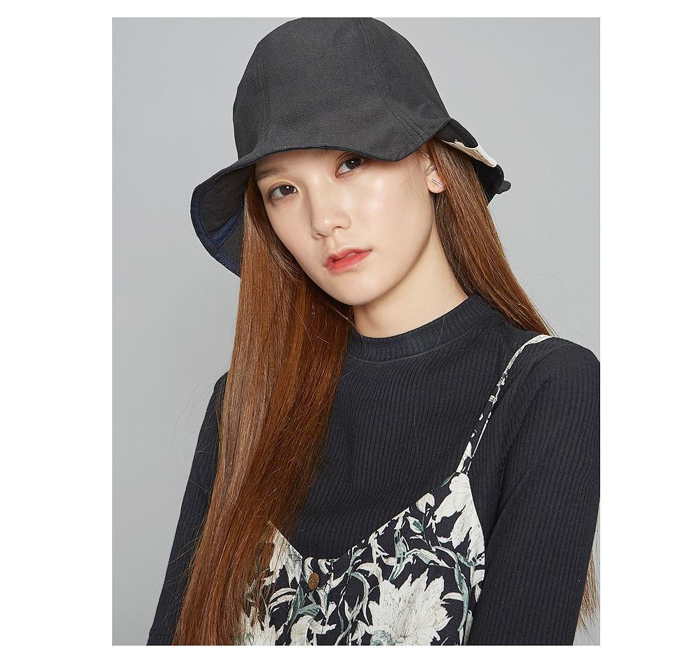 cotton bucket hat (3 colors)