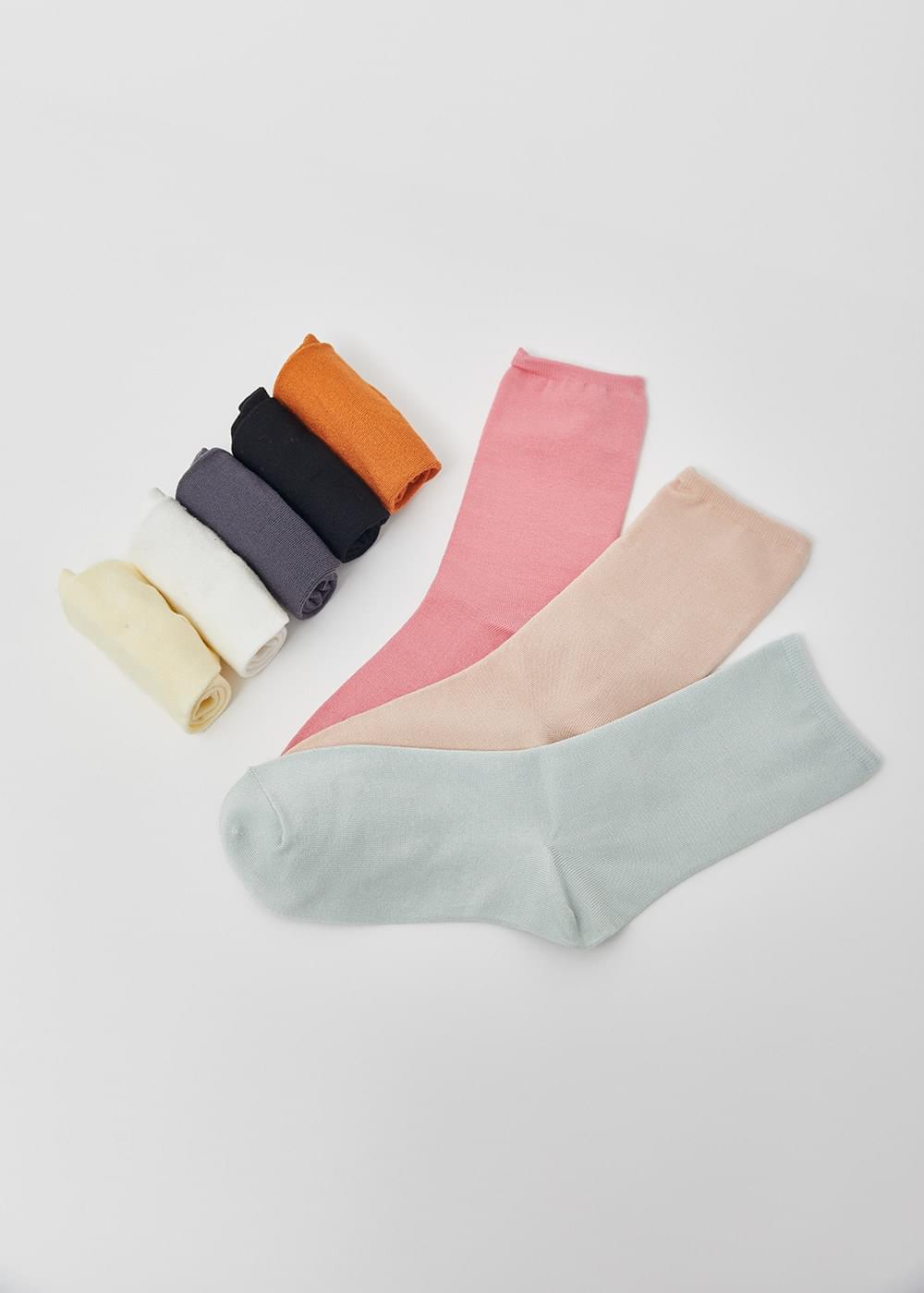 韓國空運 - Daily rayon socks 襪子