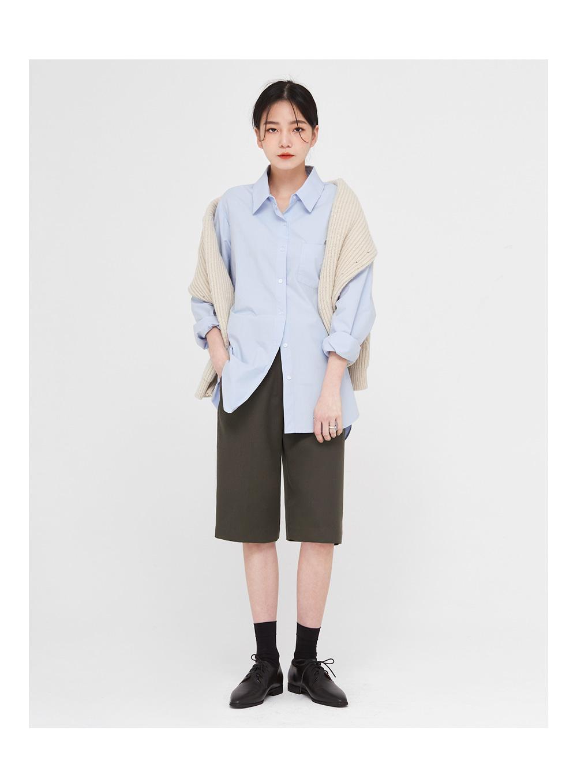ben wool v-neck knit