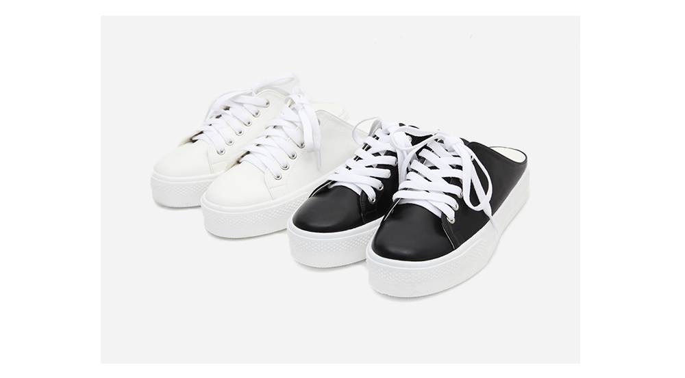 casual sneakers slippers (2 colors)