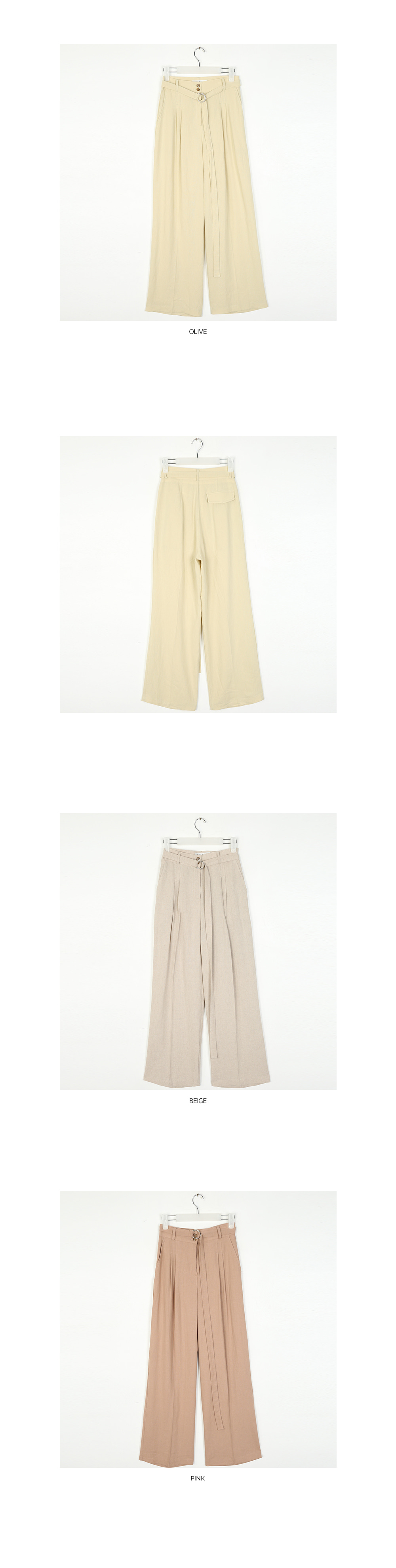 tree wide linen pants