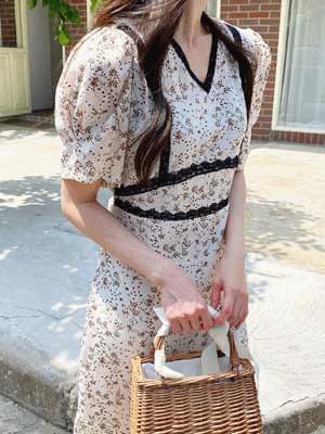 Brown Latte Dress