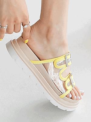 Tucaine PVC slippers 4cm 涼鞋