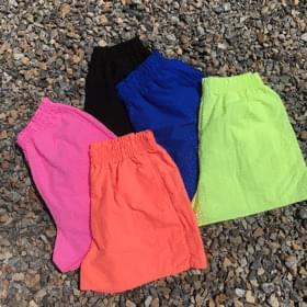 Summer banding short pants