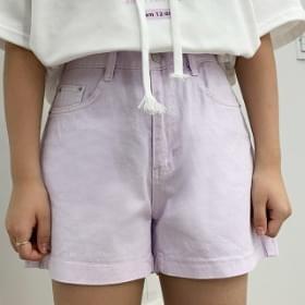 Cotton dying short pants