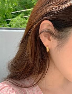 Unique Gold Ring Earring