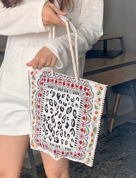 Flower Indian Eco Bag キャンバスバック
