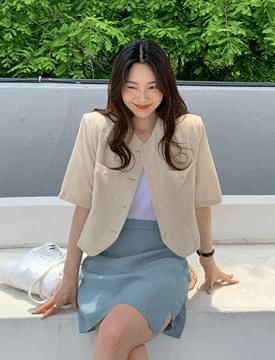Sky wrap mini pants & skirt スカート