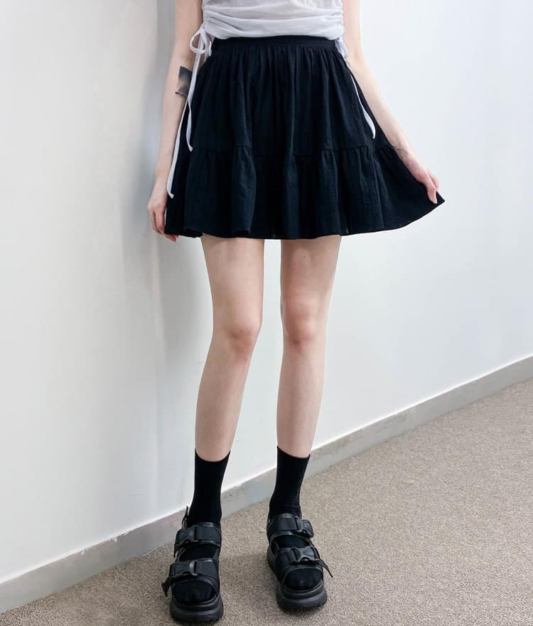 Mini cancan skirt