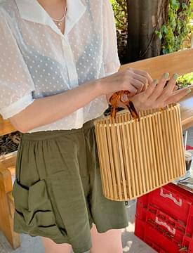 Natural Bamboo Tote Bag 托特包