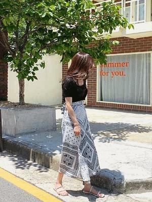 Normal Paisley Lab Skirt 裙子