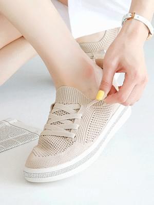 Heart Socks sneakers 3cm