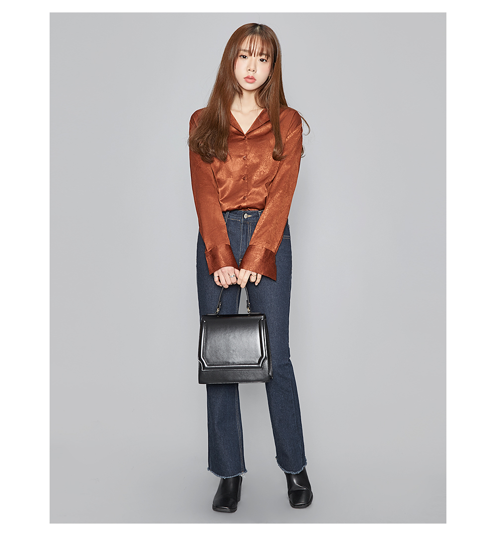 solid square tote bag (2 colors)