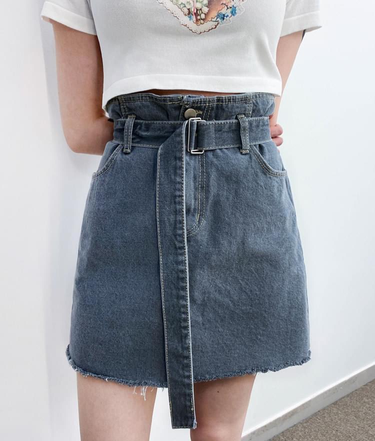 801 belt skirt スカート