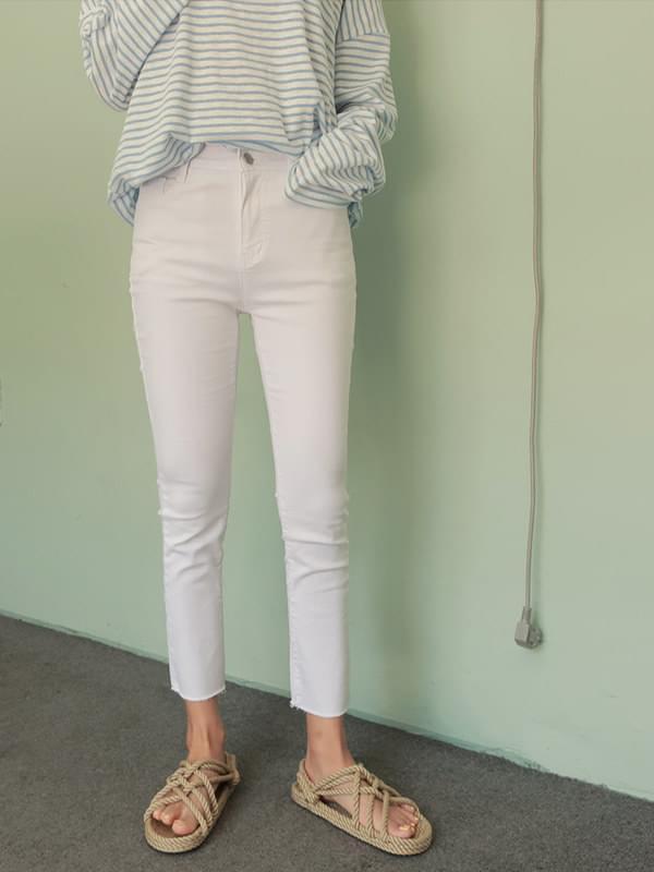 Basic Summer 8.5 cropped pants pants