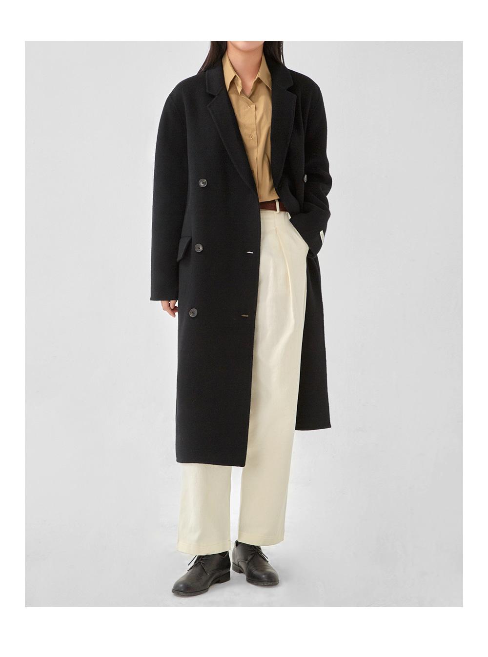day double handmade coat