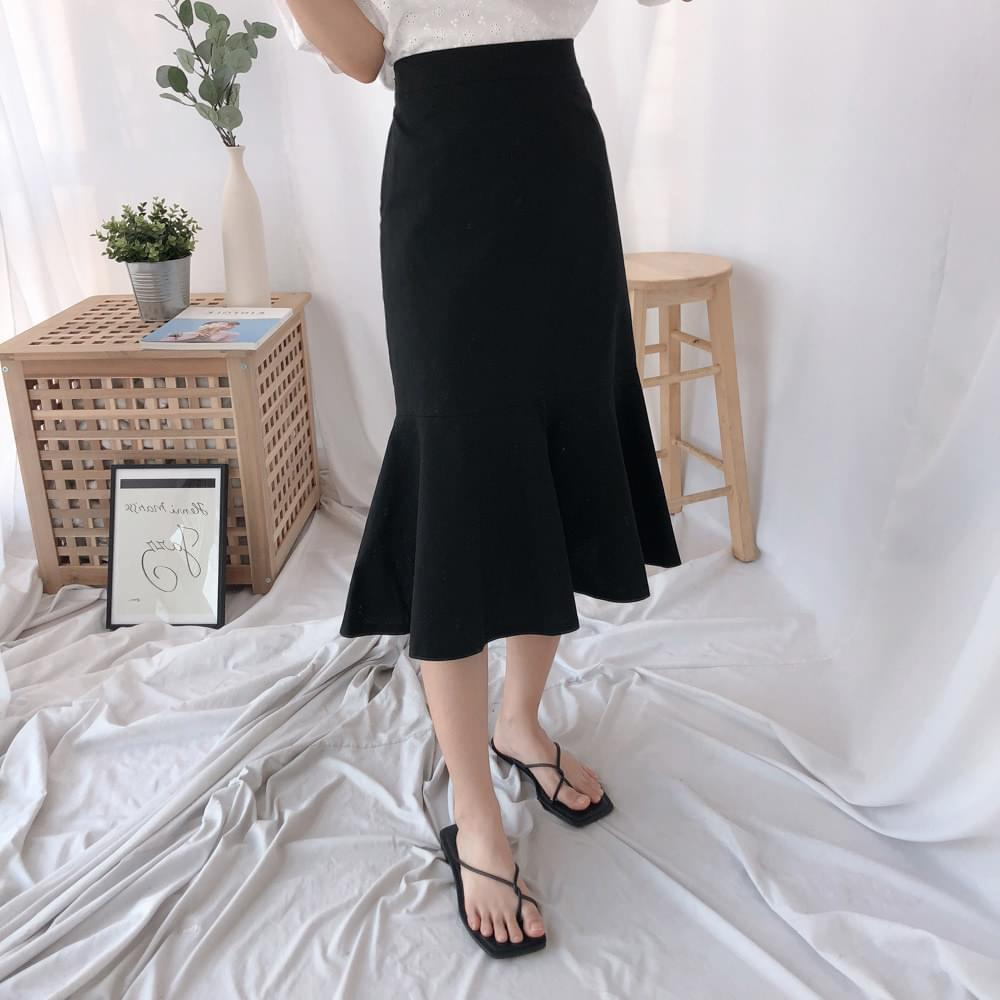 Vis Mermaid Long Skirt