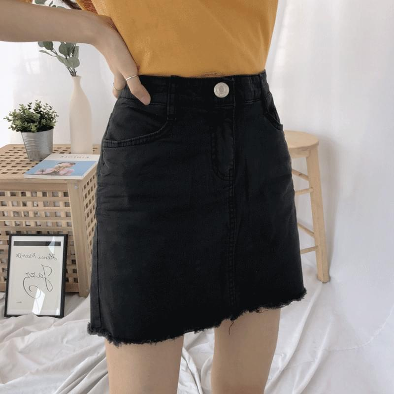 850 basic cutting cotton skirt