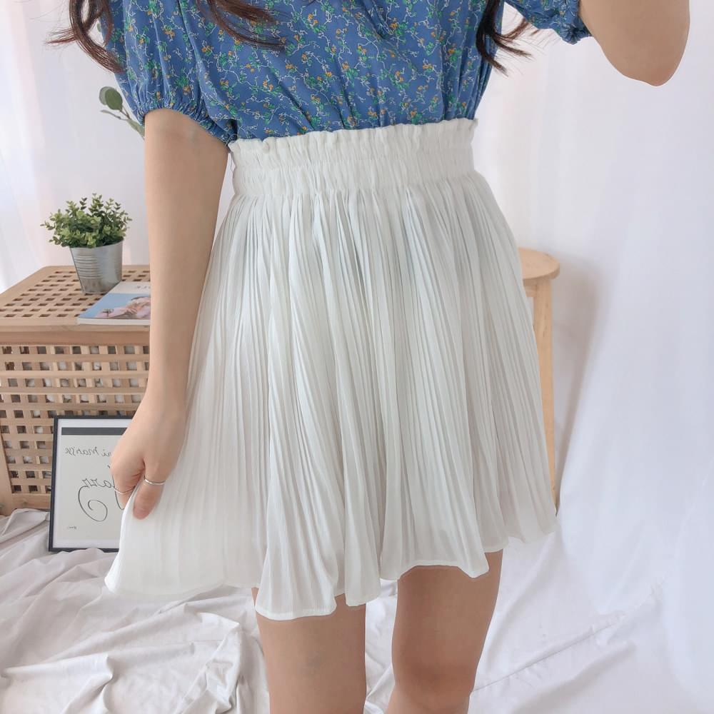 Eve wrinkle mini skirt