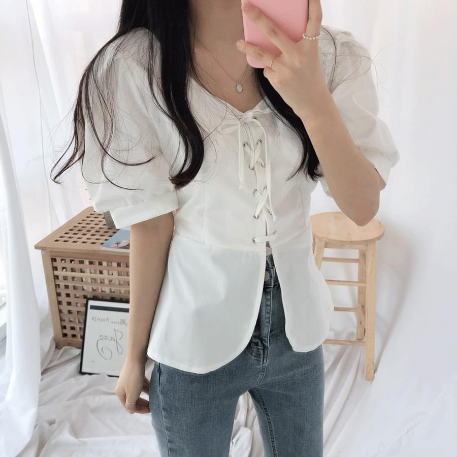 Kona corset blouse