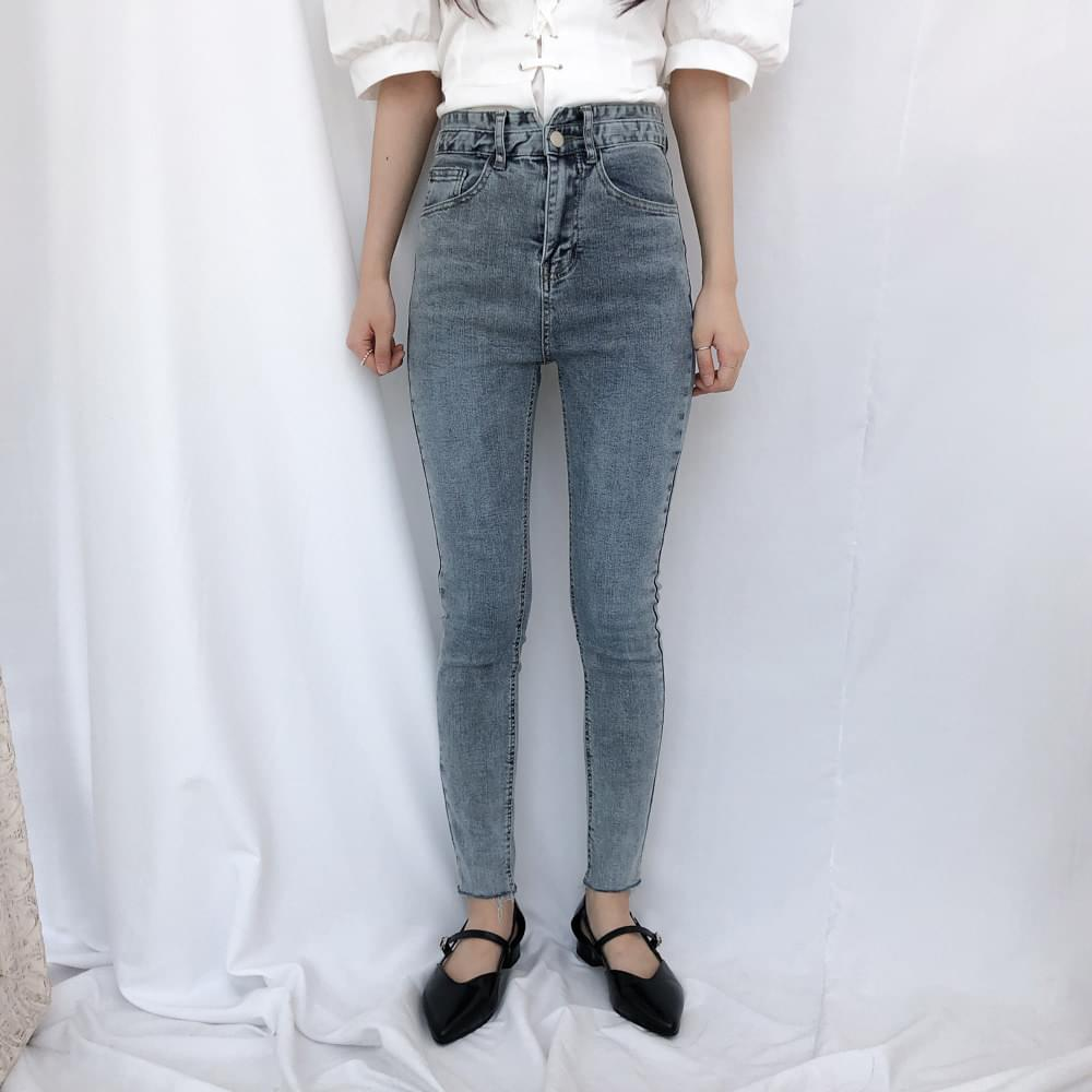 8277 Unique Washing Skinny Jean