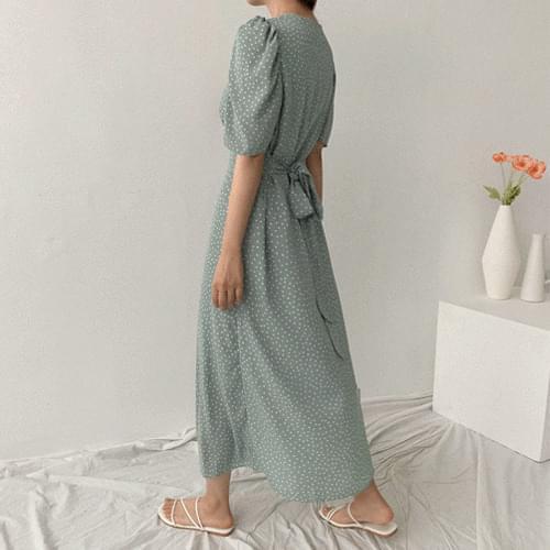 Live Dot Long Dress