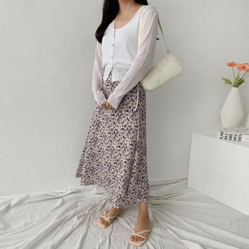 Lily Flour Long Skirt