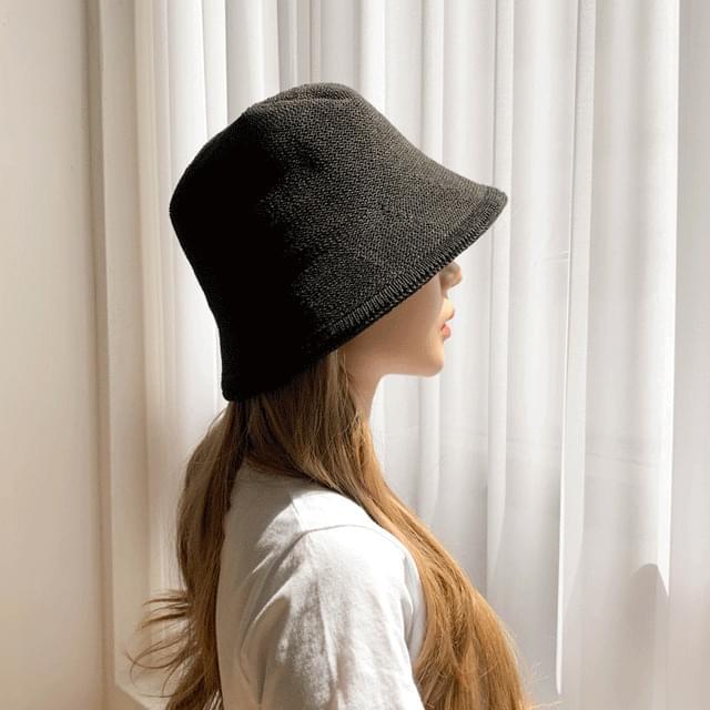 지사 숏챙 버킷햇 벙거지 모자