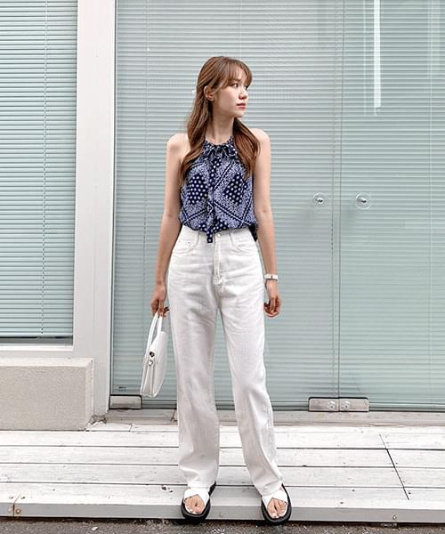 136 summer long denim pants 牛仔褲