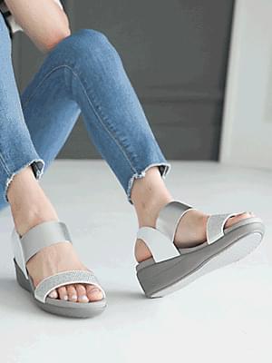 Retail Wedge Slingback Sandals 5 cm