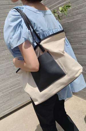 Loe Canvas Big Square Bag