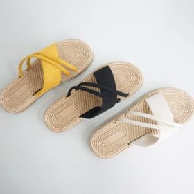 Cross branch slippers