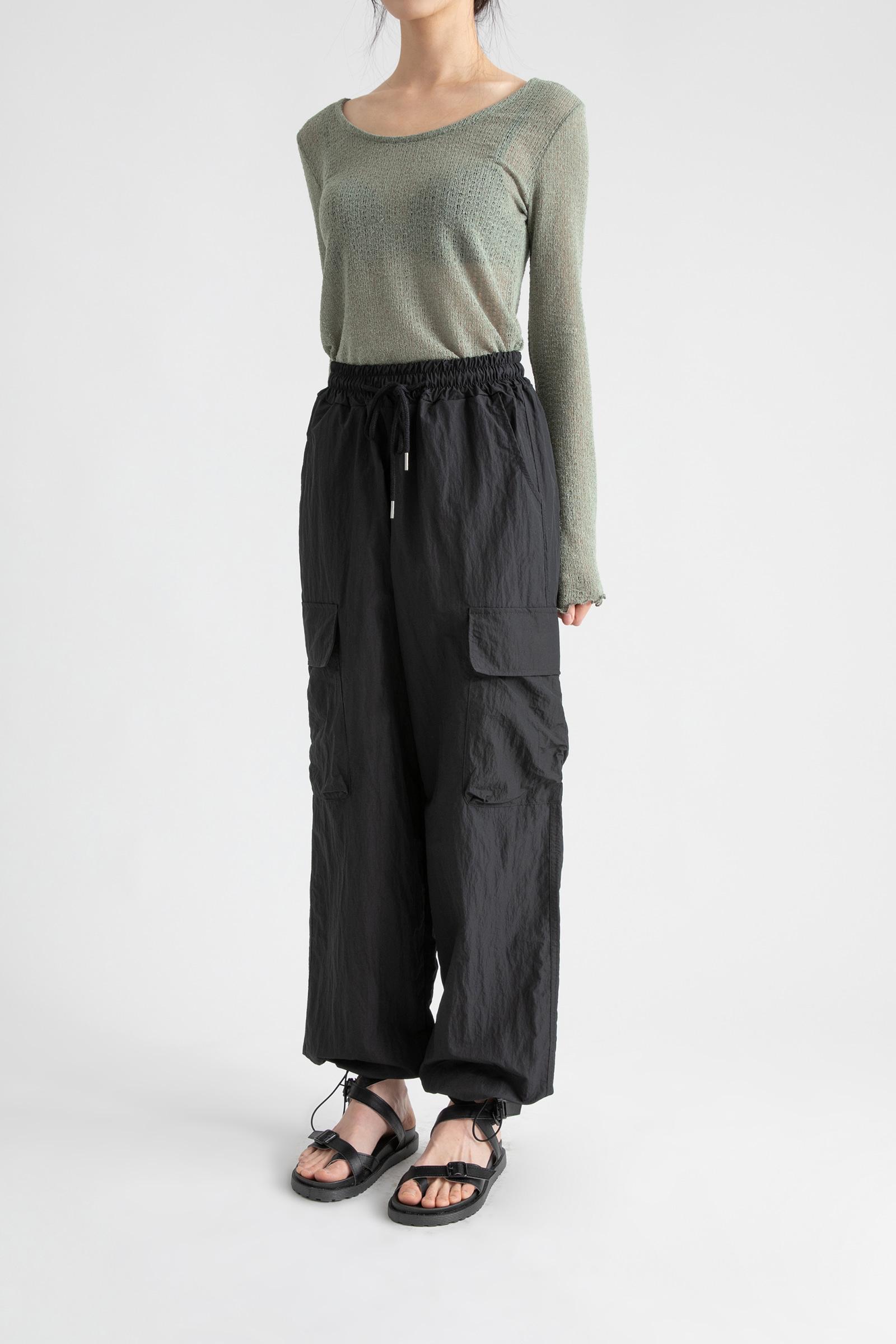 Unisex nylon jogger pants