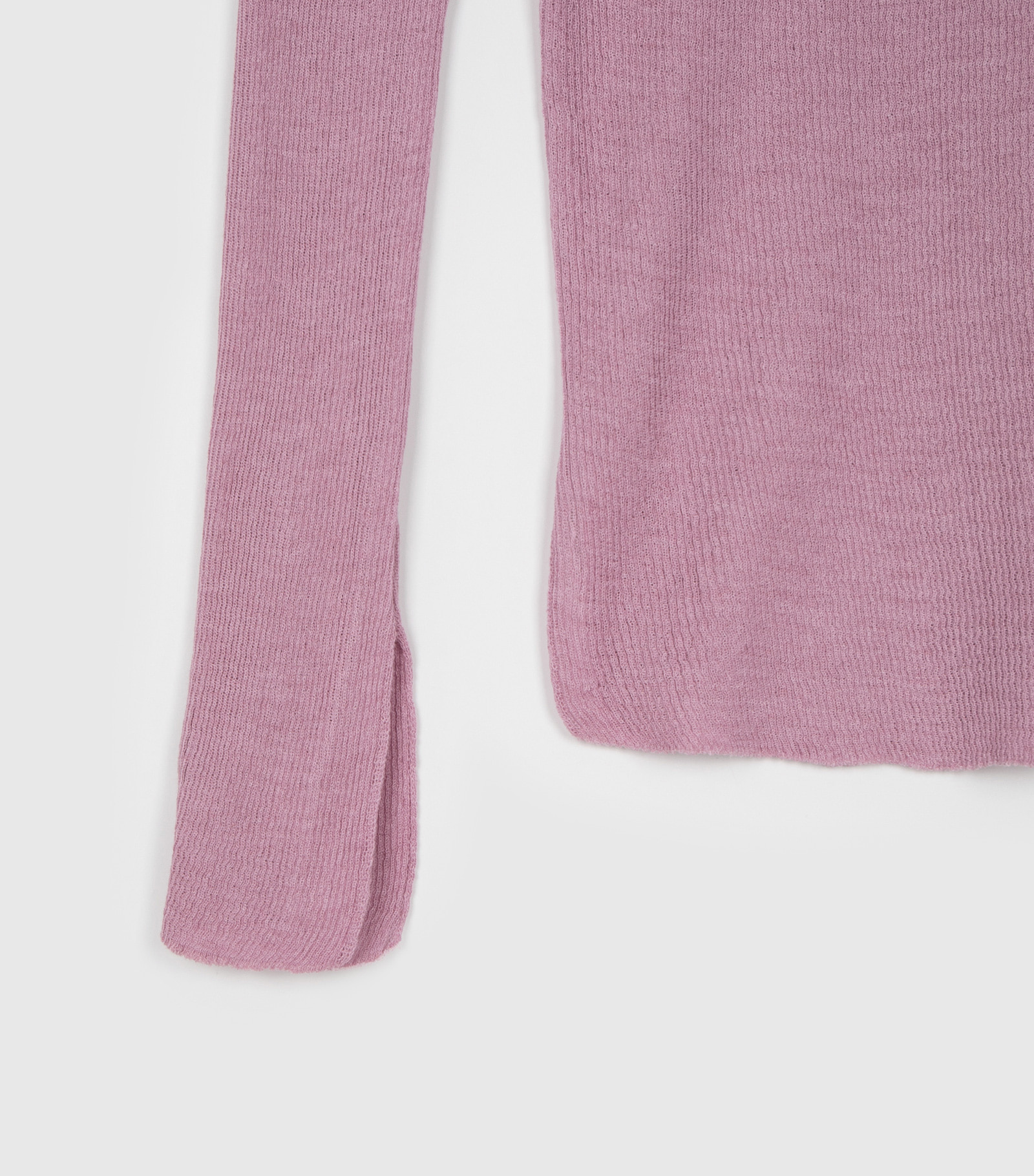Avant Linen One Off Shoulder Knit