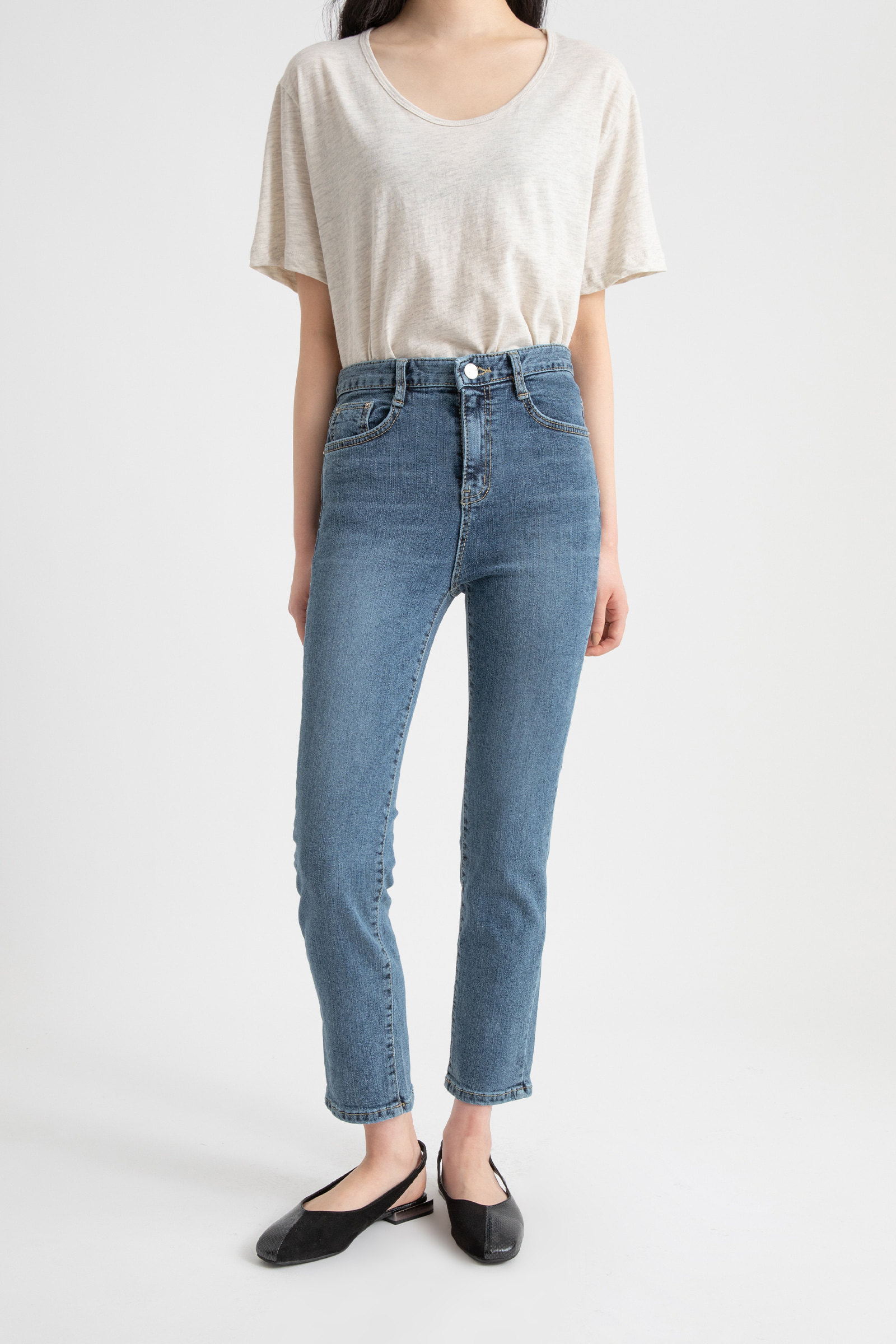 Play tension slim jeans