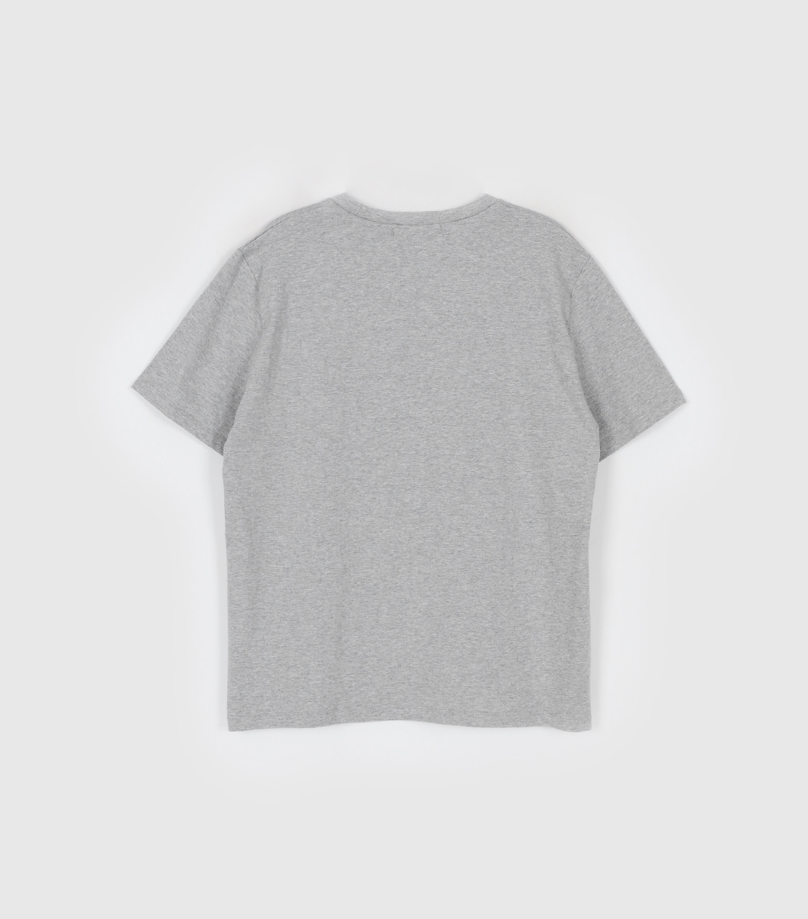 Rye printing half t-shirt