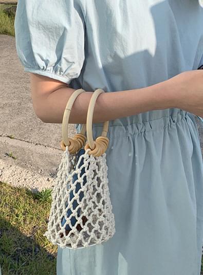 Knitting Woodring bag