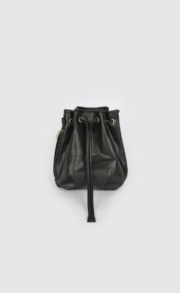 Folding two-way leather backpack