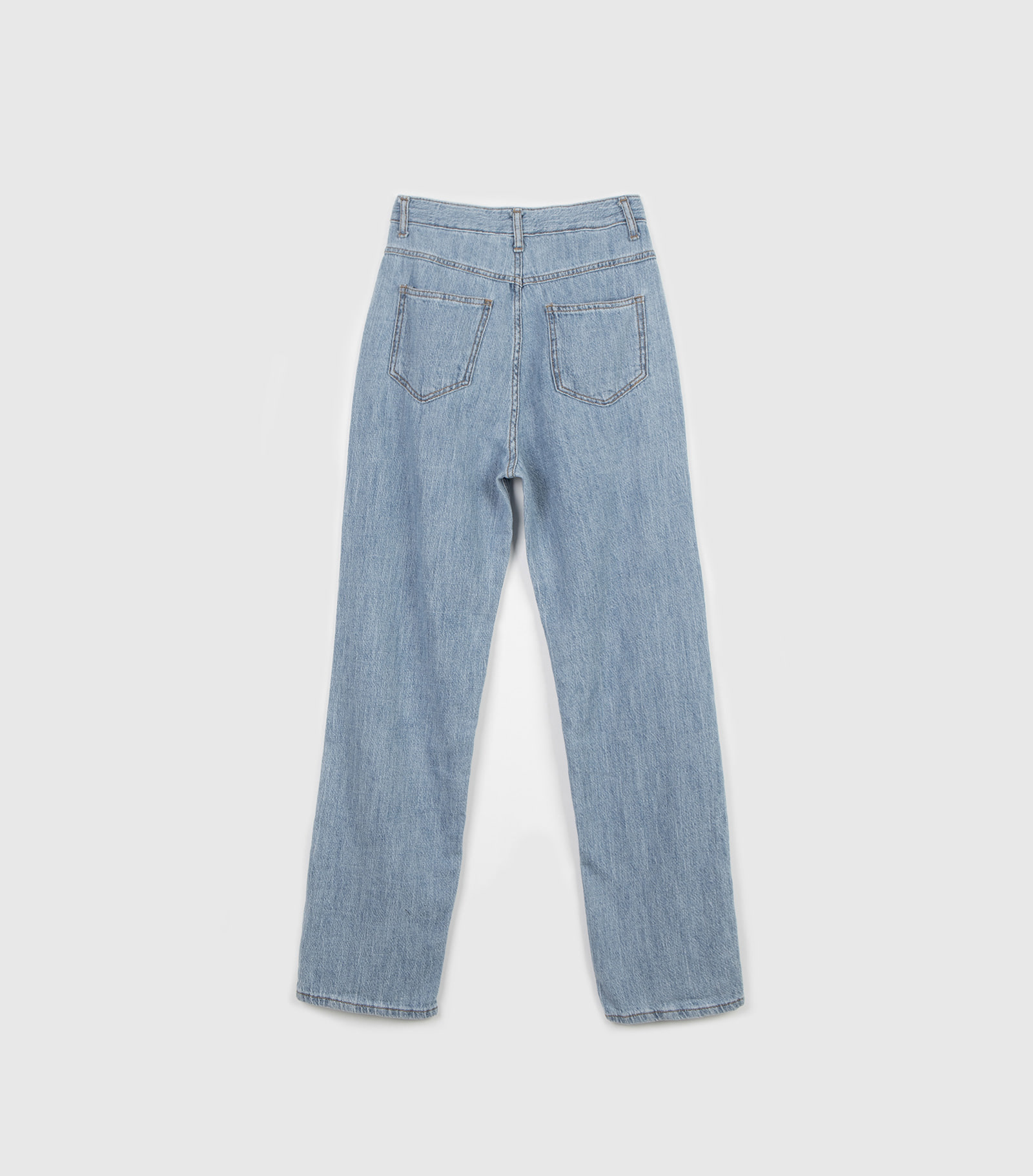 Rouge high waist wide jeans