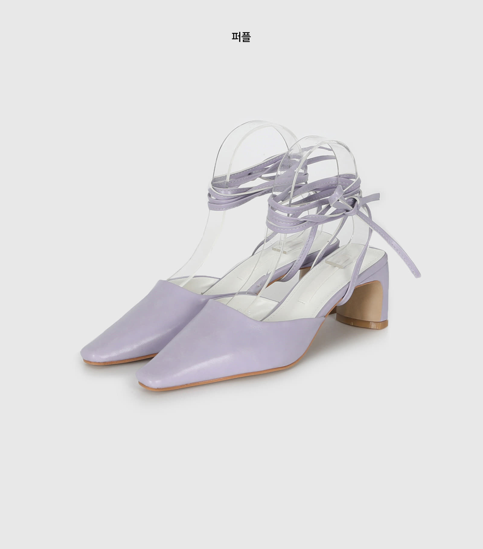 Loving Strap Two Way Middle Heel Mule