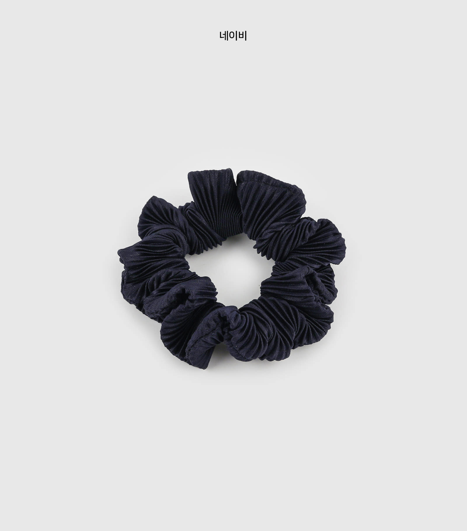 Pleated shoe hair band