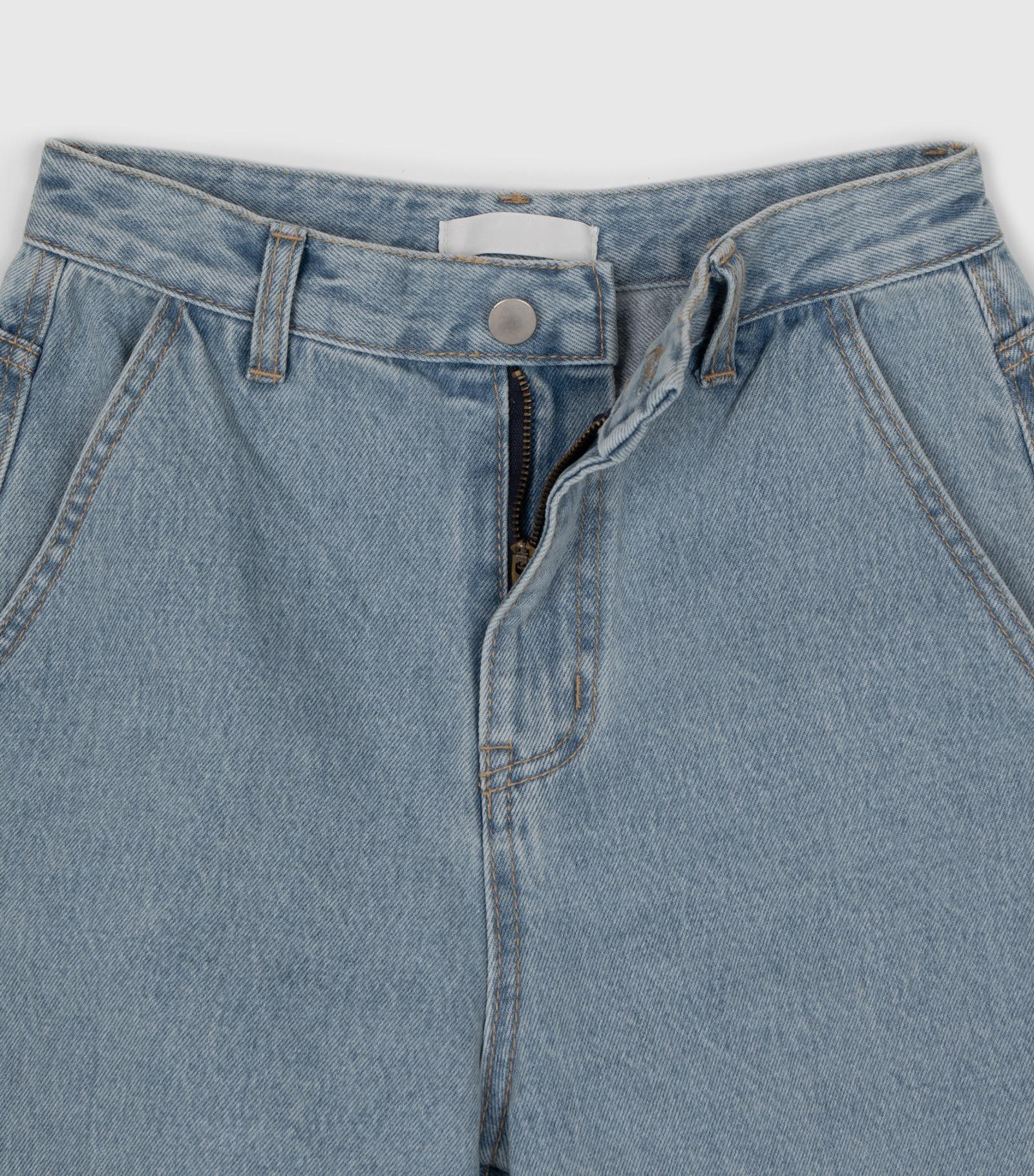 Grand High Rise Half Jean