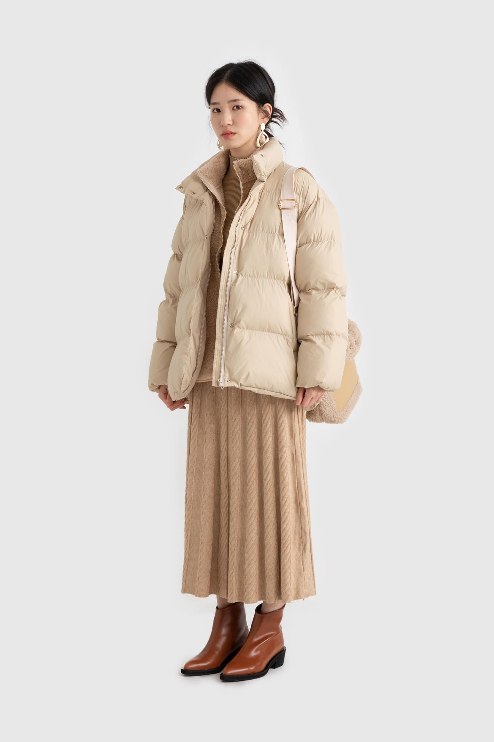 Soft fleece zip-up sweatshirt