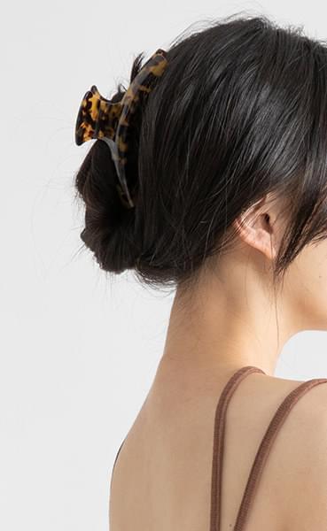 Iris marbling hairpin