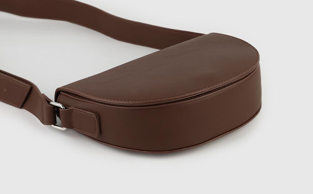 Simple Daily Buckle Cross Shoulder Bag