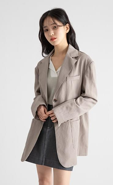 Page over linen single jacket