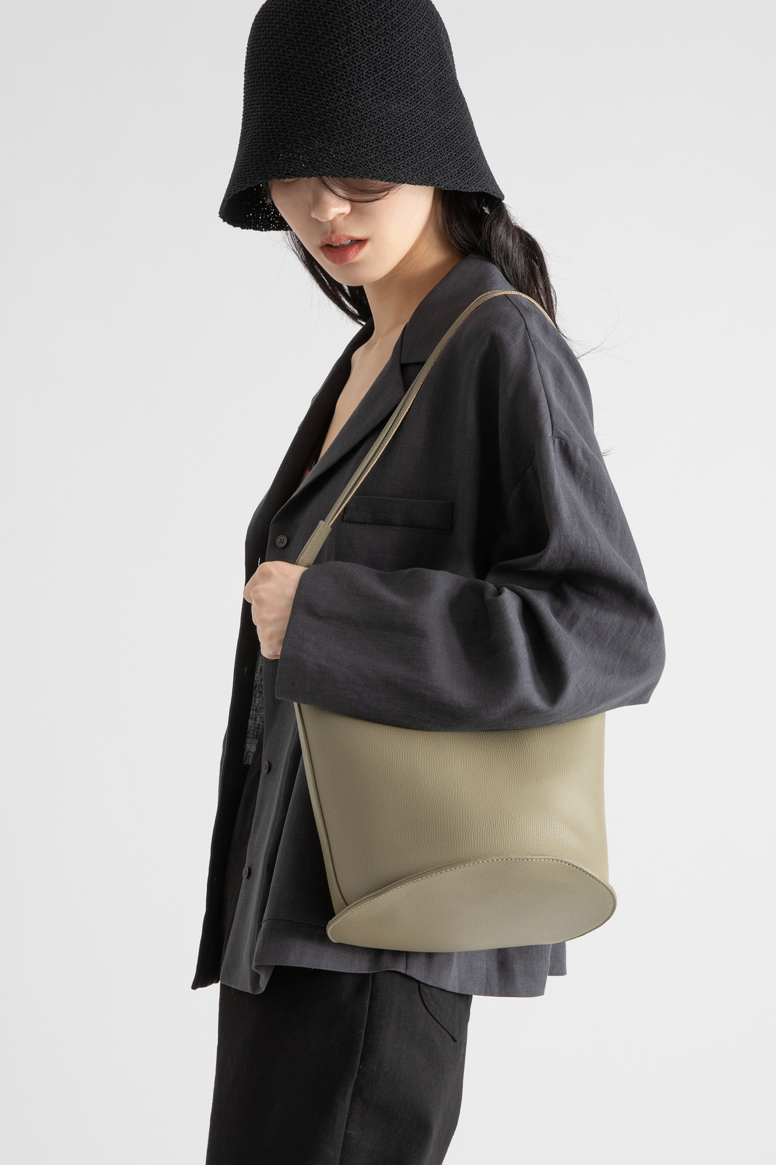 Mini Pocket Tencel Linen Jacket